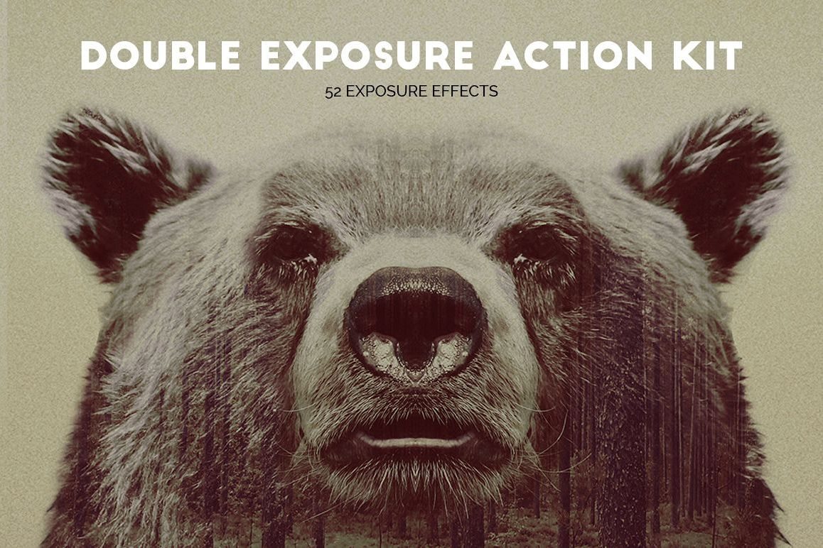 Double Exposure Action Kit example image 1
