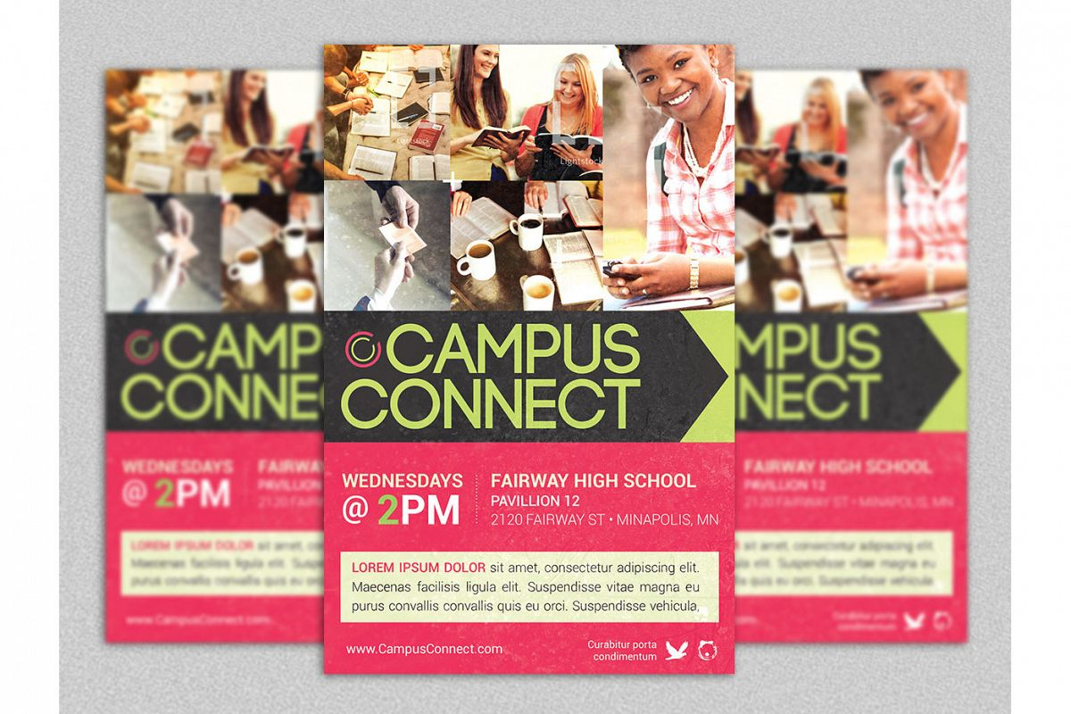 Campus Connect Flyer Template
