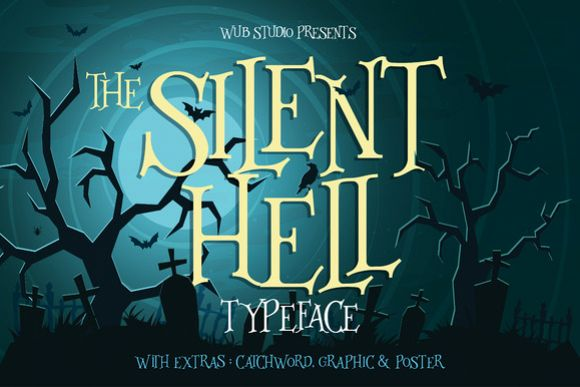 Silenthell Typeface example image 1