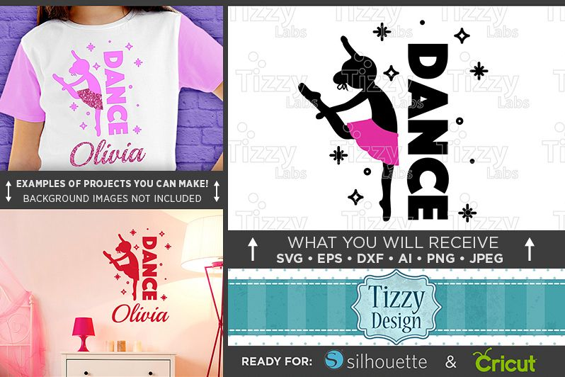 Dance Shirt Svg File - Dance Svg - Dance Mom Svg - 1054 example image 1