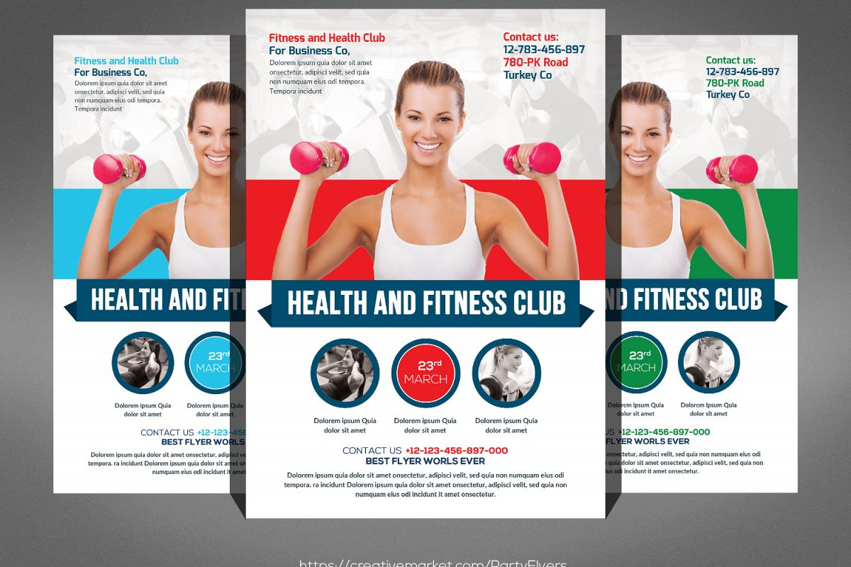 Fitness Flyer example image 1