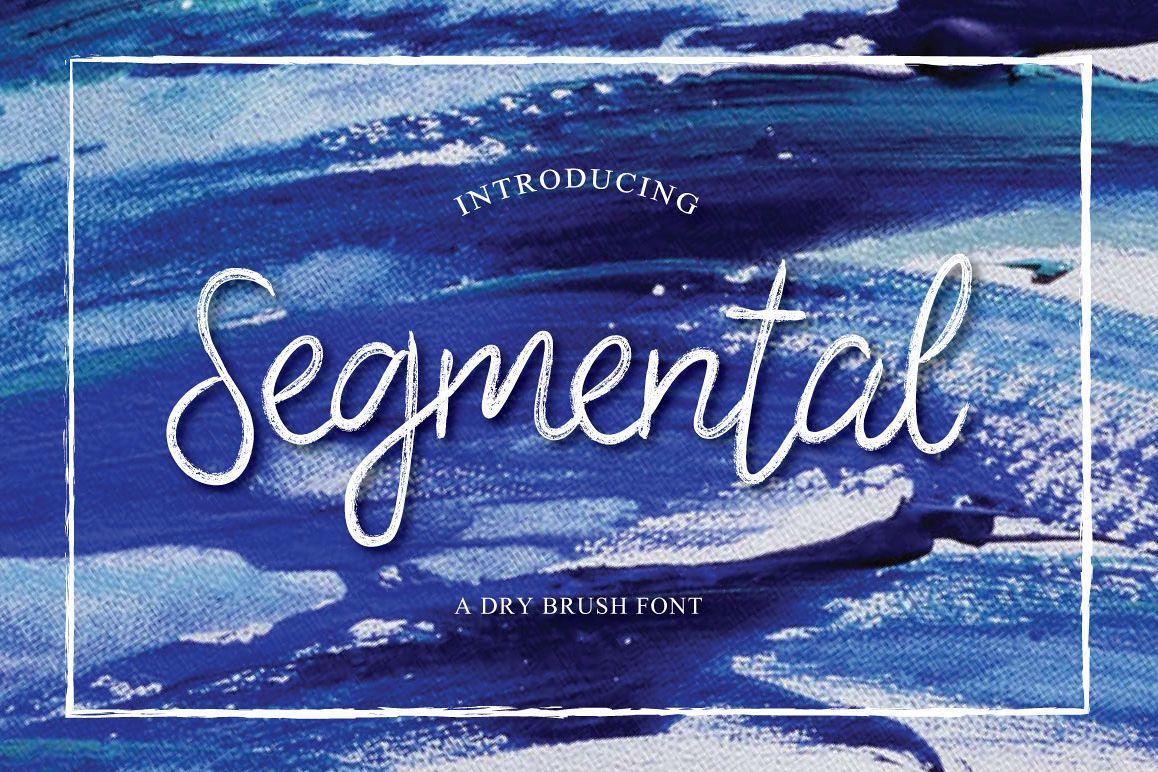Segmental Typeface example image 1