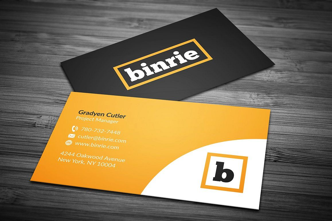 corporate business card 3