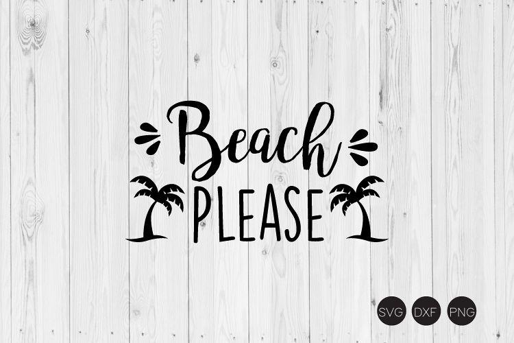 Beach Please SVG example image 1