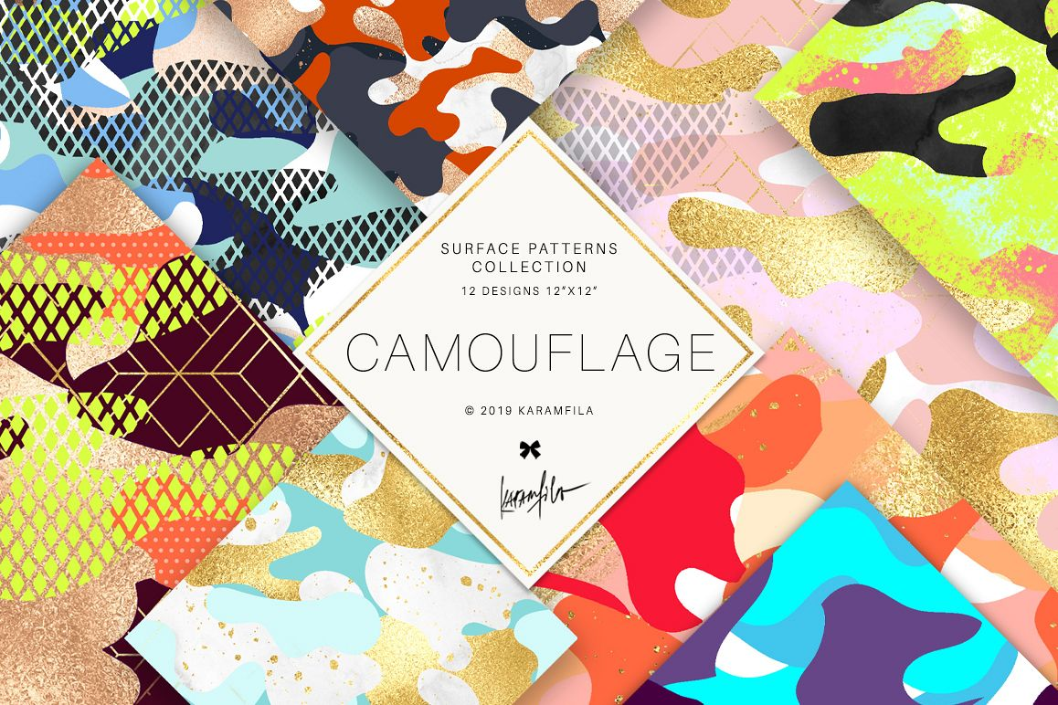 Camouflage Patterns example image 1