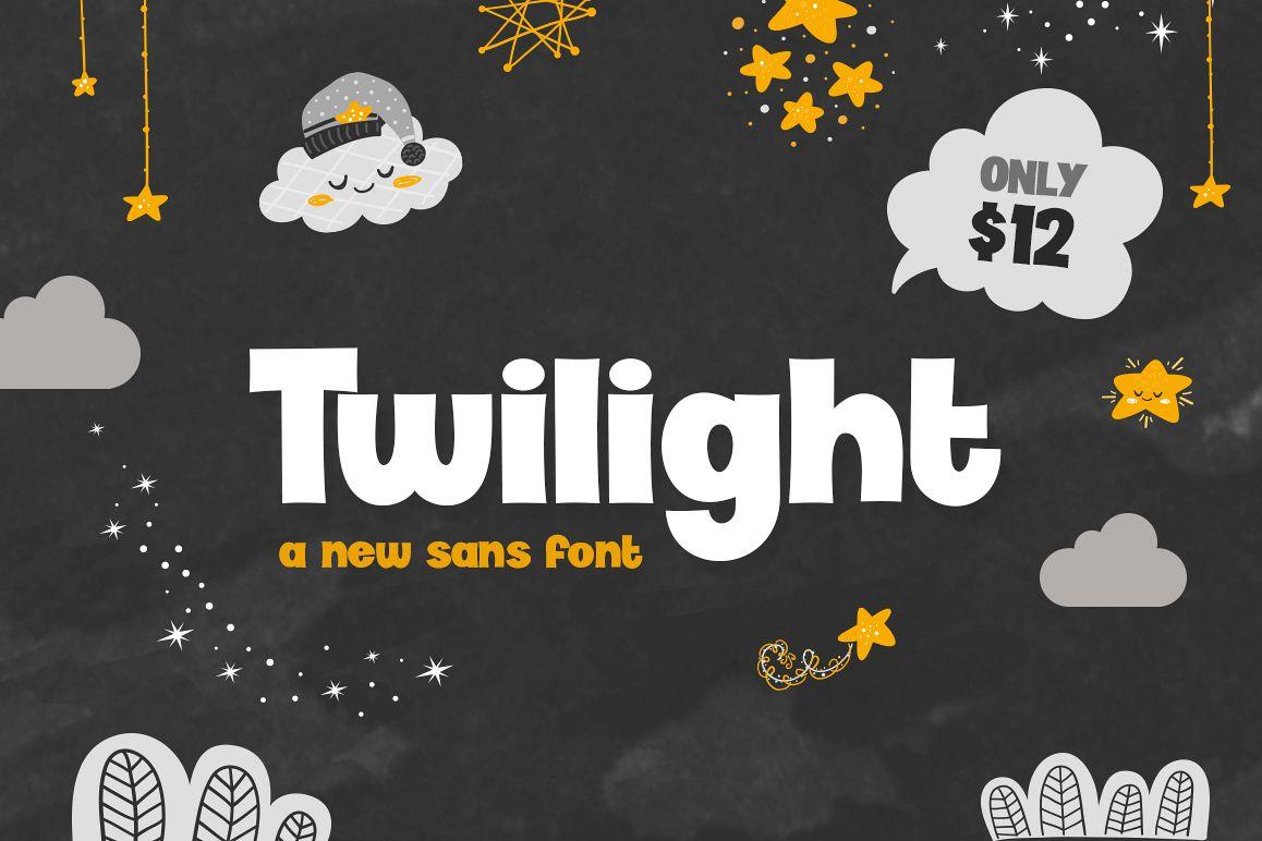 Twilight Font example image 1