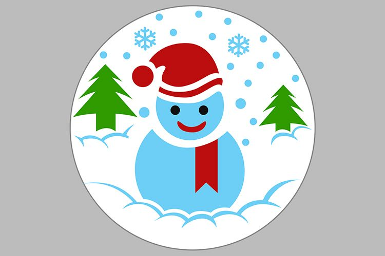 snowman example image 1