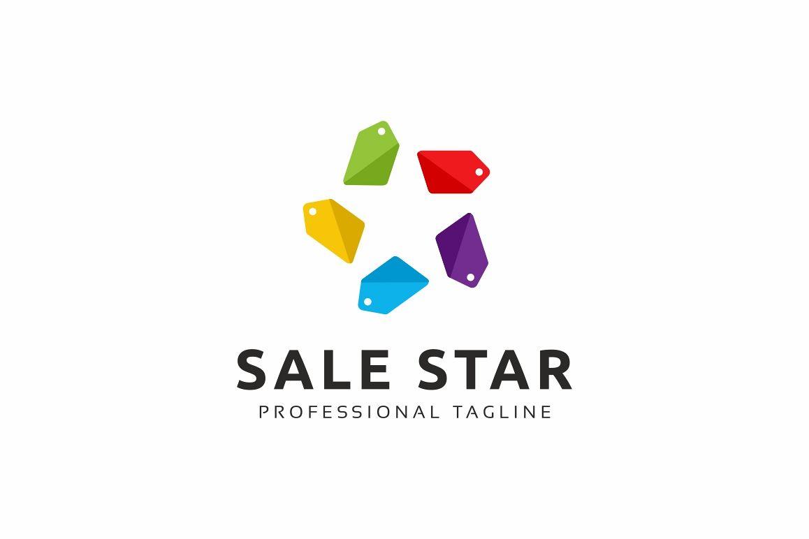 Sale Star Logo example image 1