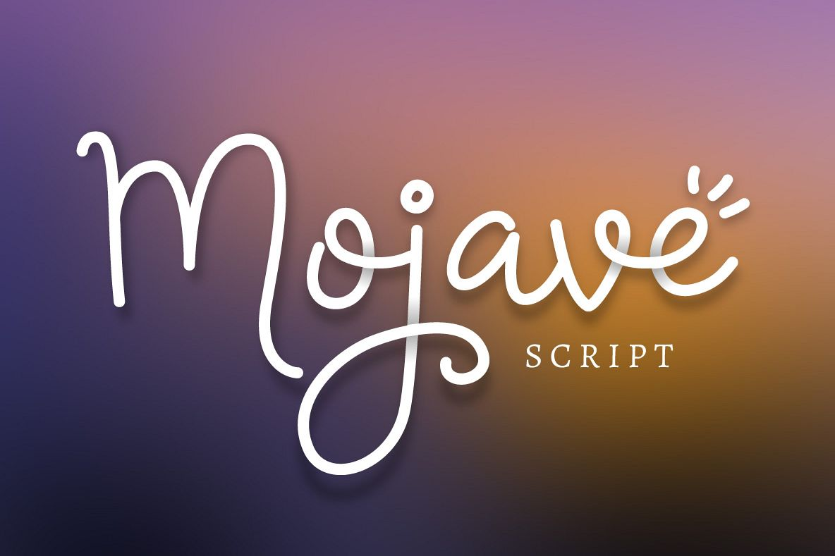 Mojave Script + Extras example image 1