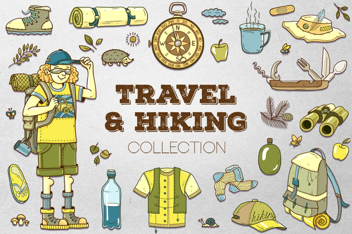 Travel & Hiking collection example image 1