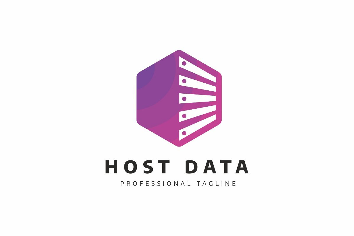 Host Data Logo example image 1