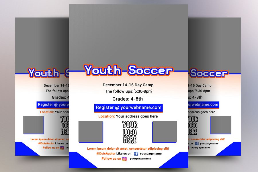 Soccer Flyer Template example image 1