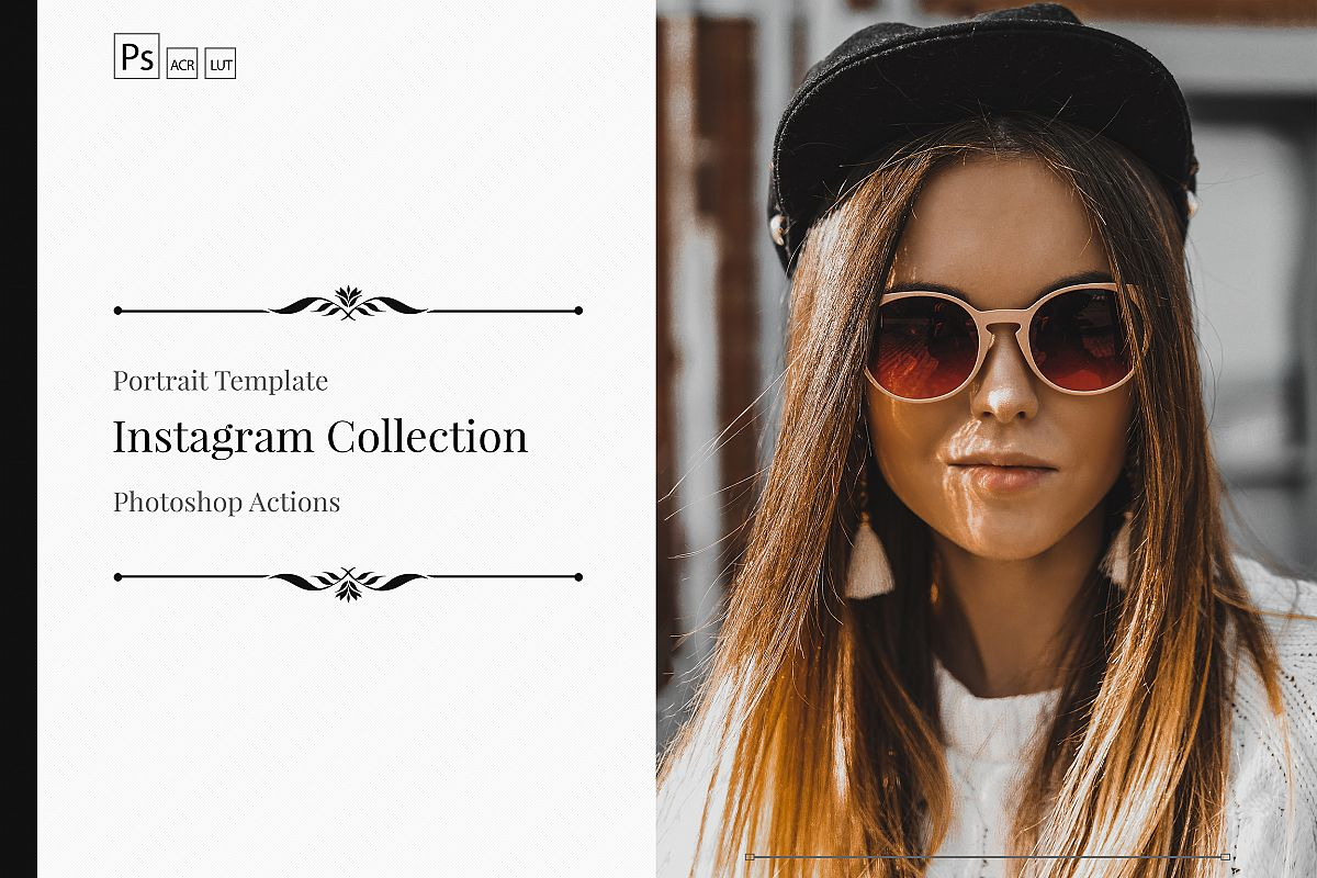 Instagram Color Grading photoshop actions Filter example image 1