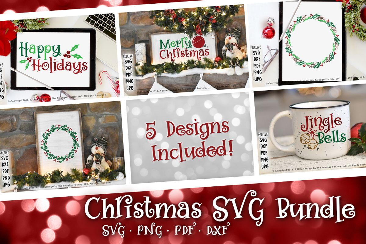 Christmas SVG Bundle example image 1