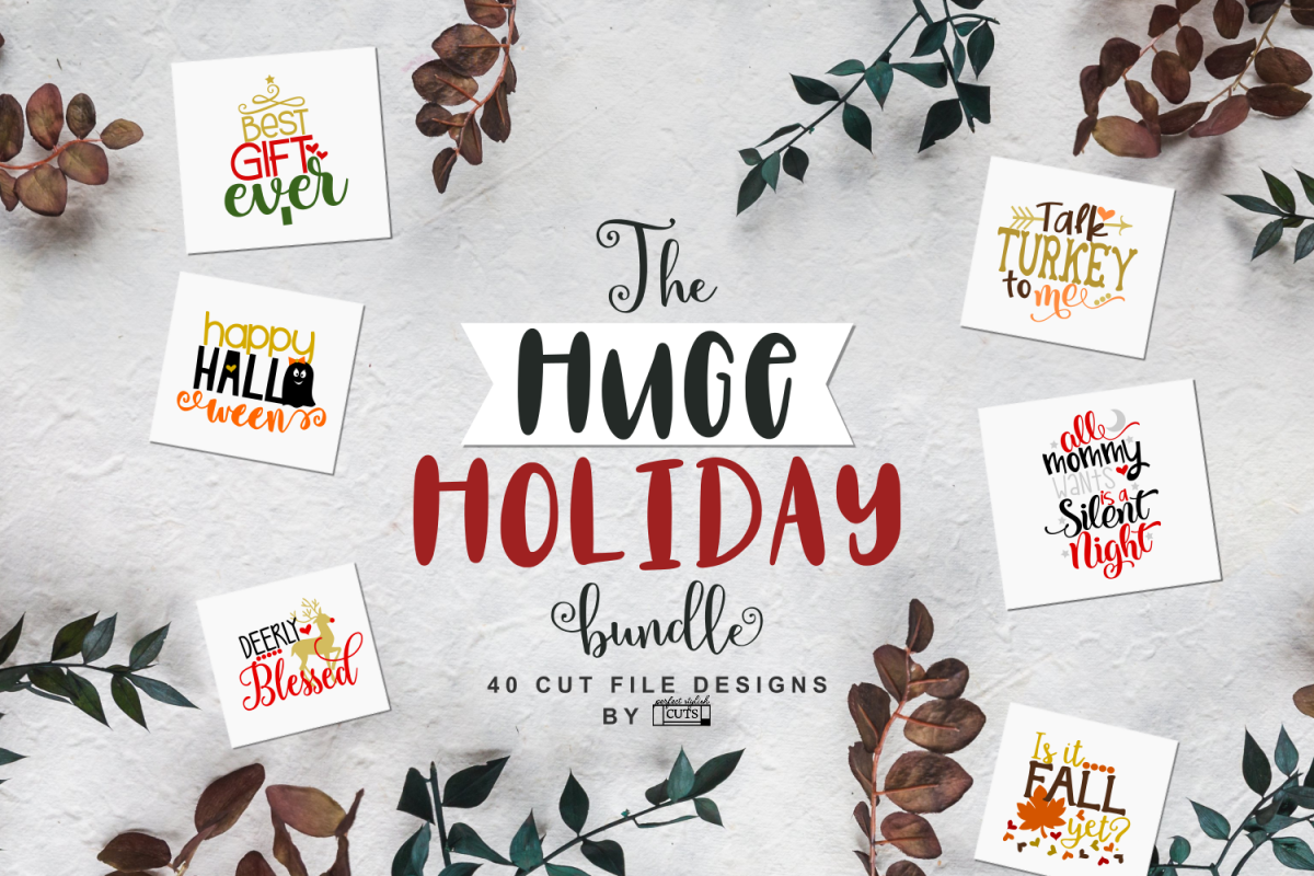 The Huge Holiday SVG Bundle