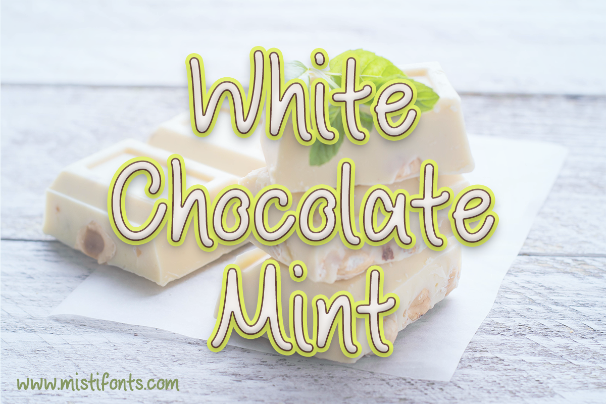 White Chocolate Mint example image 1
