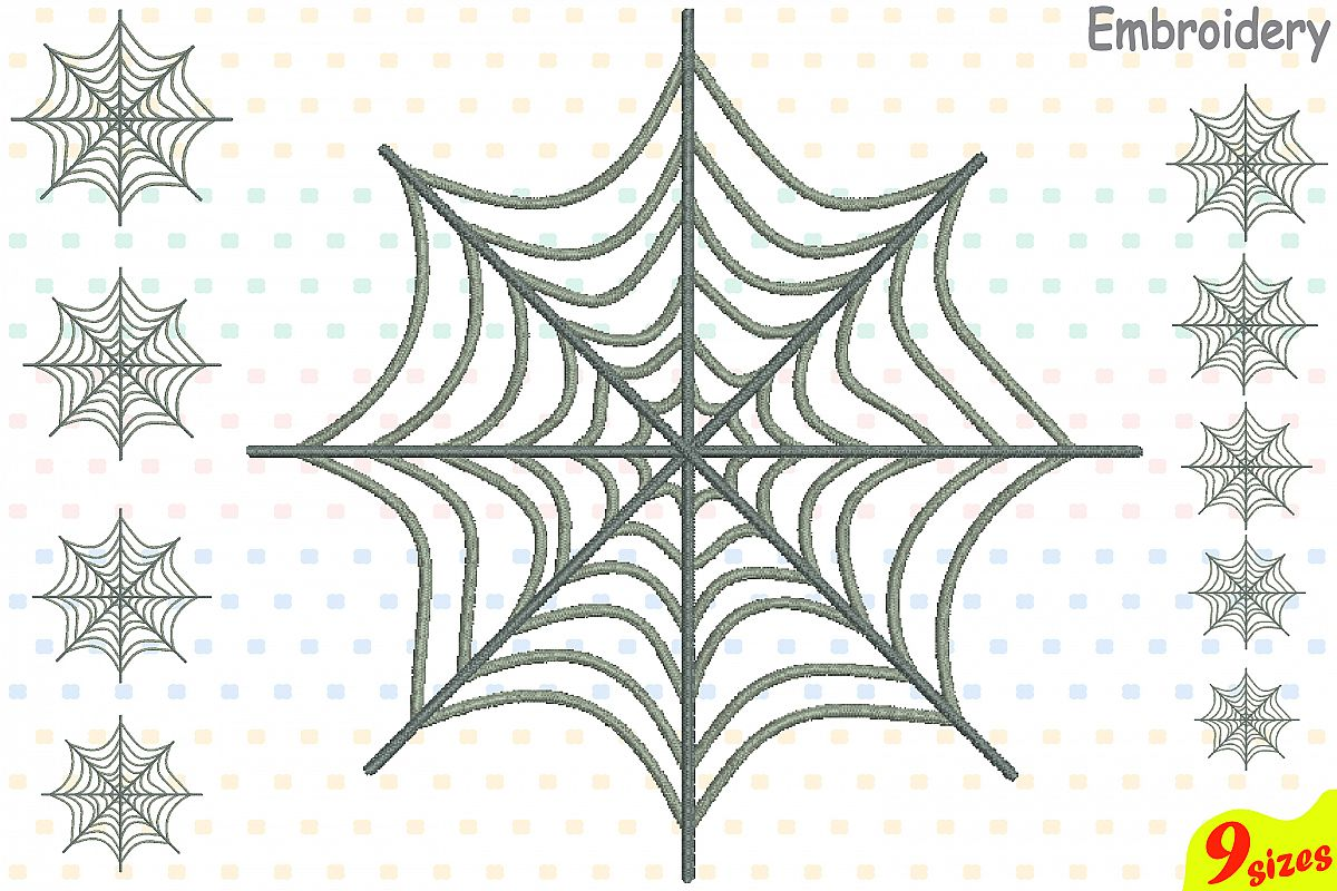 spider web designs for embroidery machi design bundles