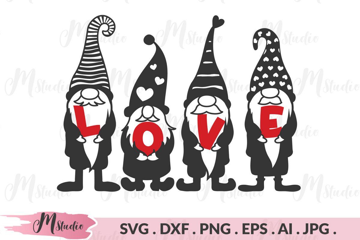 Download Gnome love SVG.