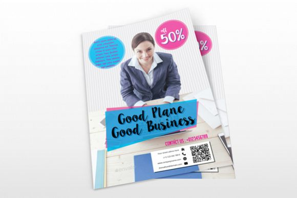 Simple Business Flyer example image 1