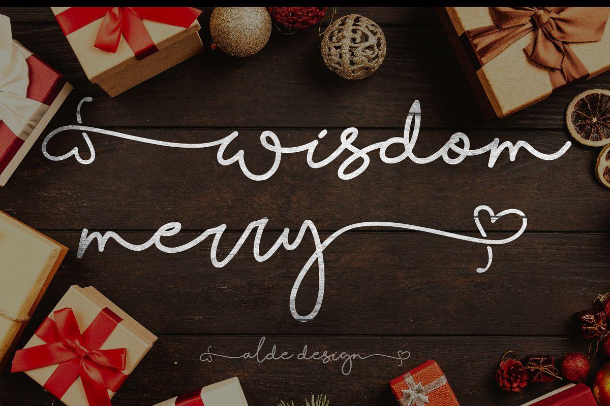 Wisdom Merry example image 1