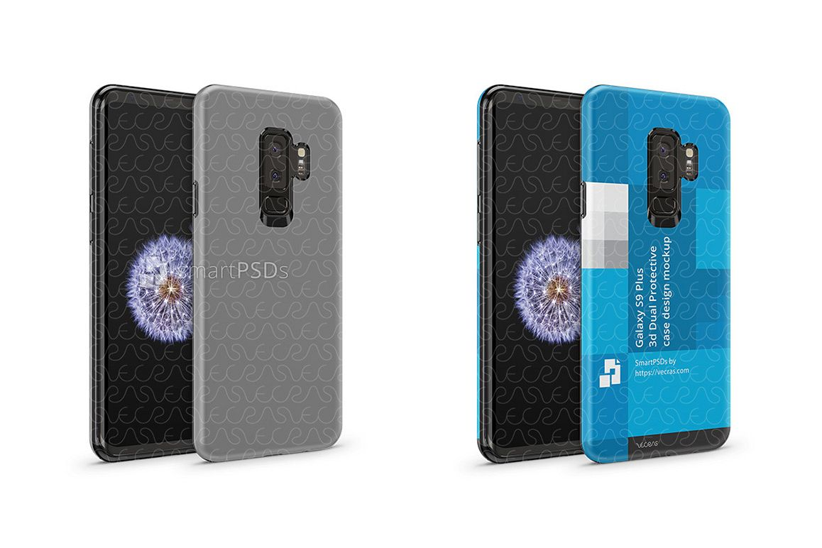 Samsung Galaxy S9 Plus 3d Dual Protective TPU Cover Design example image 1
