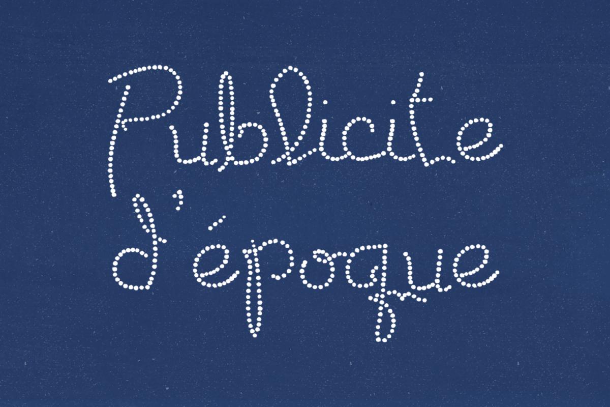 Publicite d'epoque example image 1