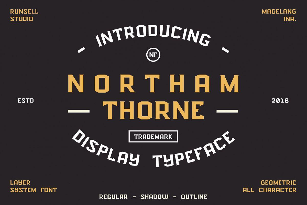 NORTHAM THORNE example image 1