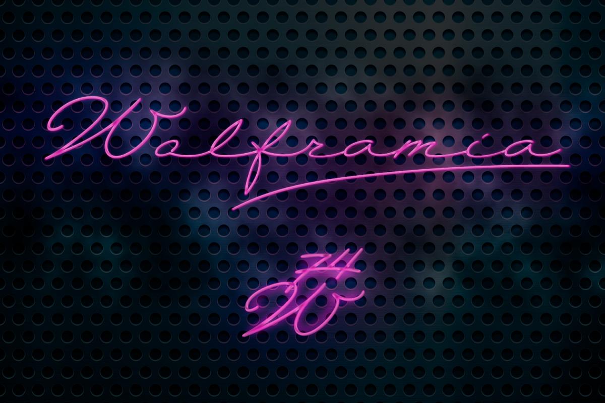 Wolframia example image 1