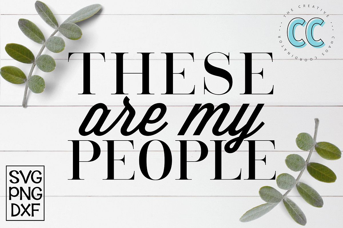 These Are My People example image 1