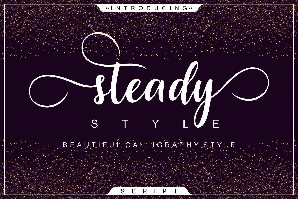 Steady Style Script example image 1