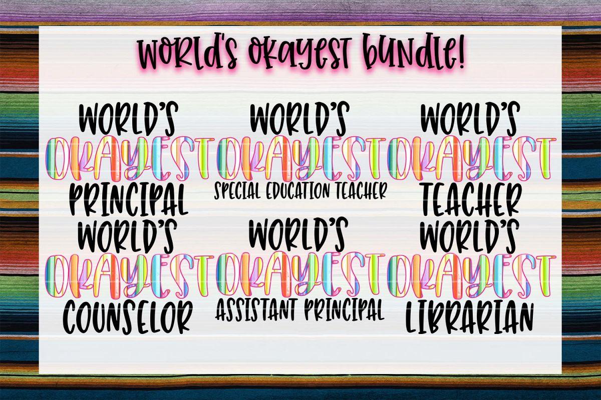 World's Okayest Education Bundle! example image 1