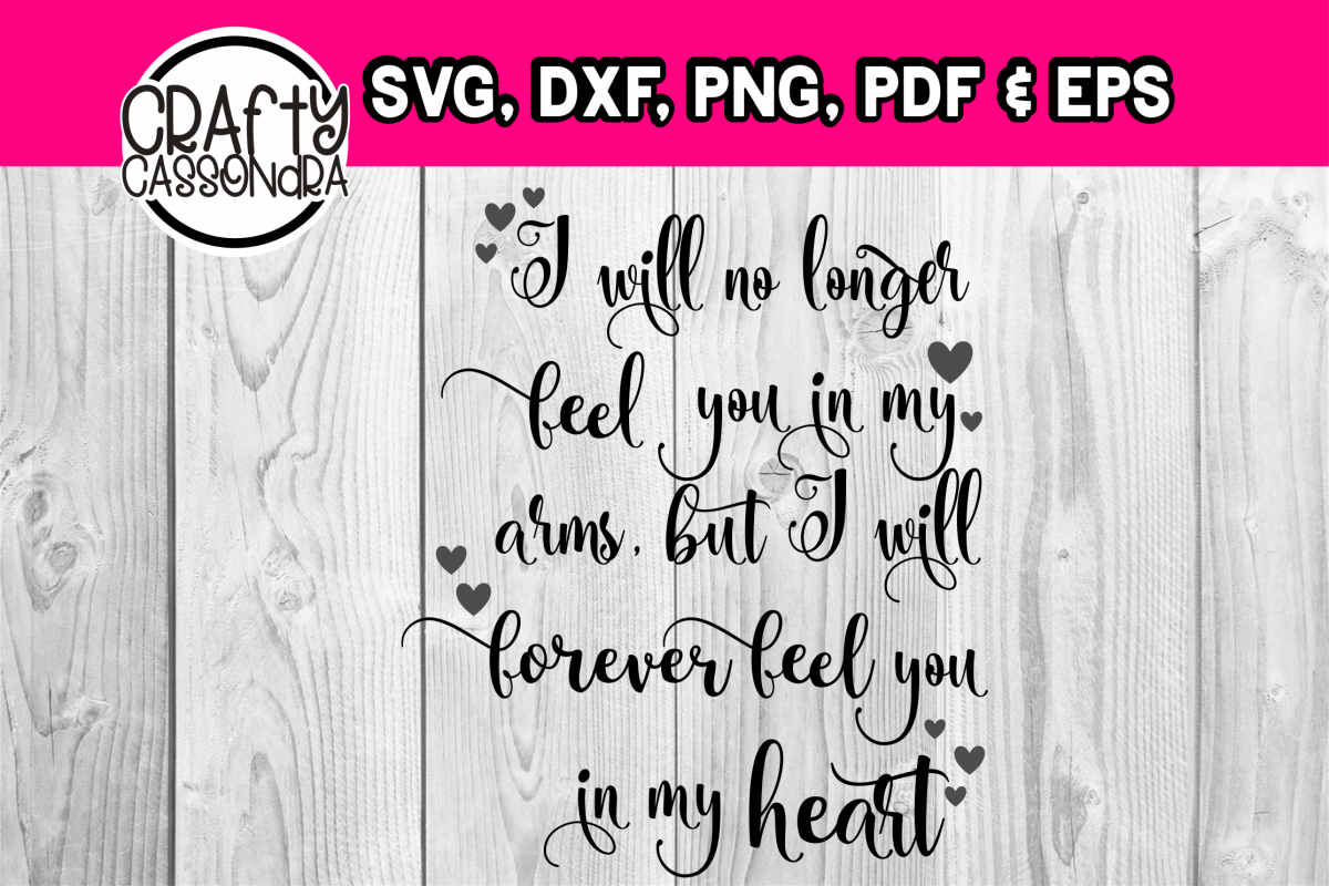 Memorial - Loss of a loved one - Condolence file - svg quote example image 1
