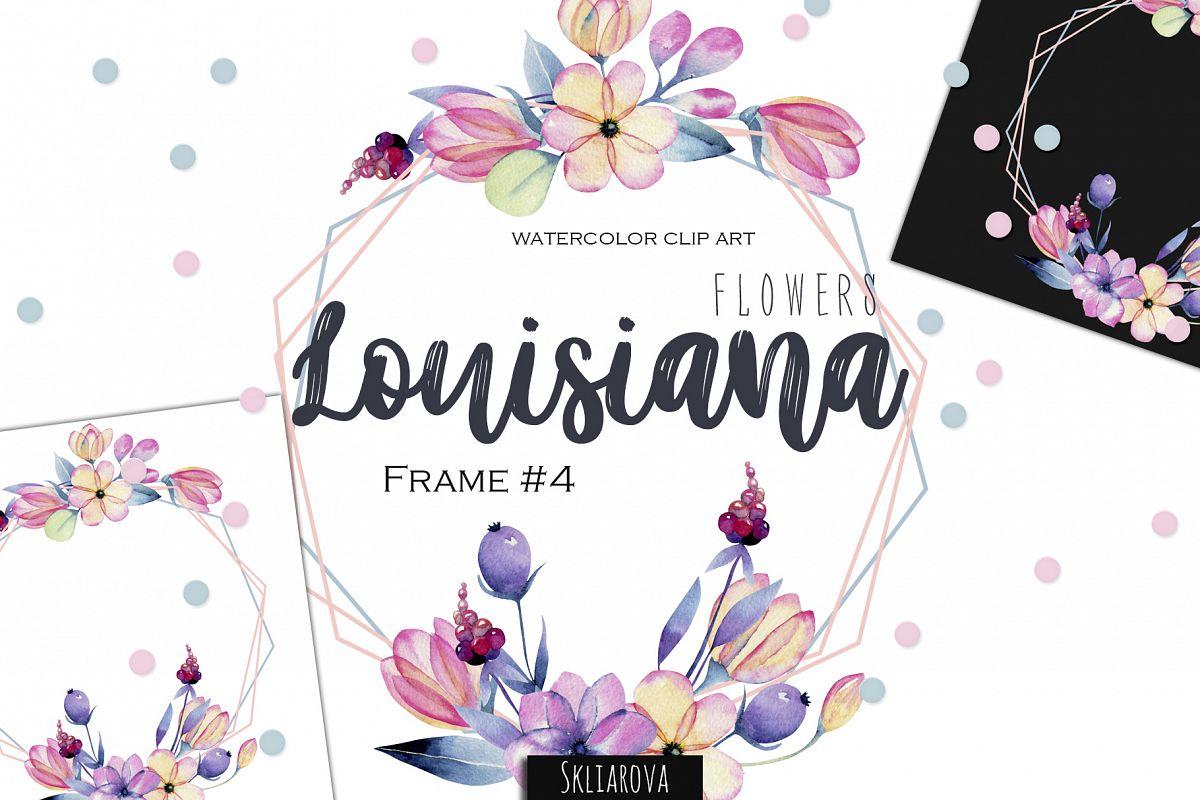 Louisiana flowers. Frame#4 example image 1