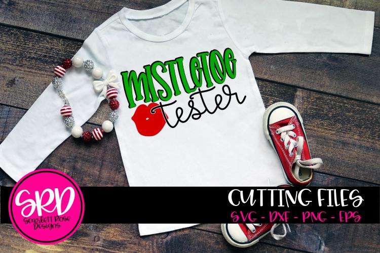 Mistletoe Tester SVG example image 1