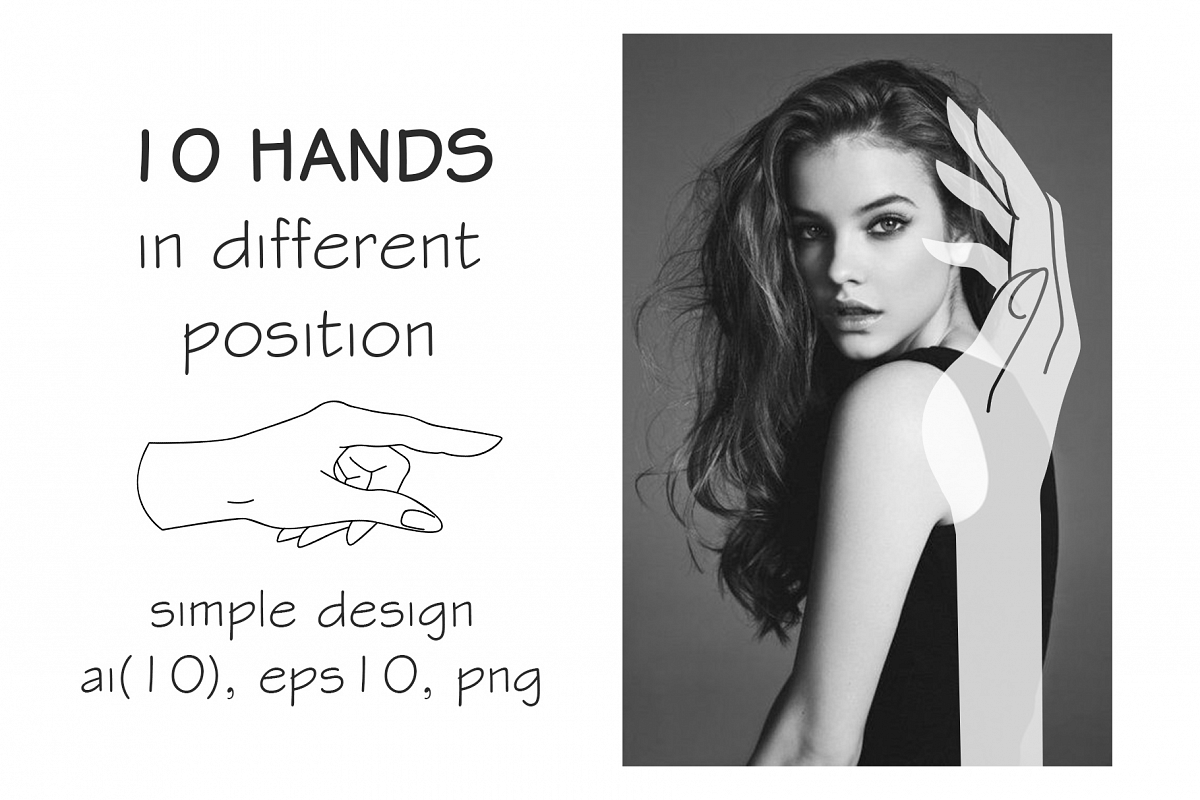 10 HANDS in simple design example image 1