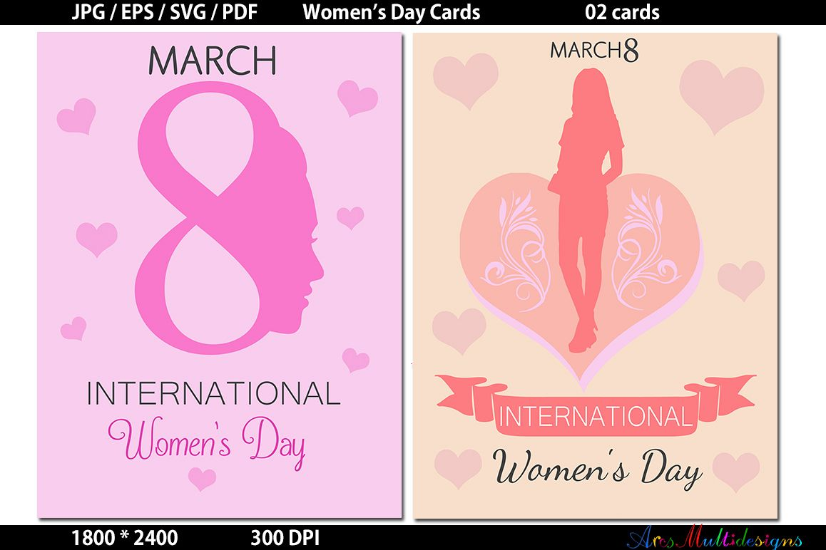 womens day / Womens Day svg card / Womens Day Graphics / Womens Day vector example image 1