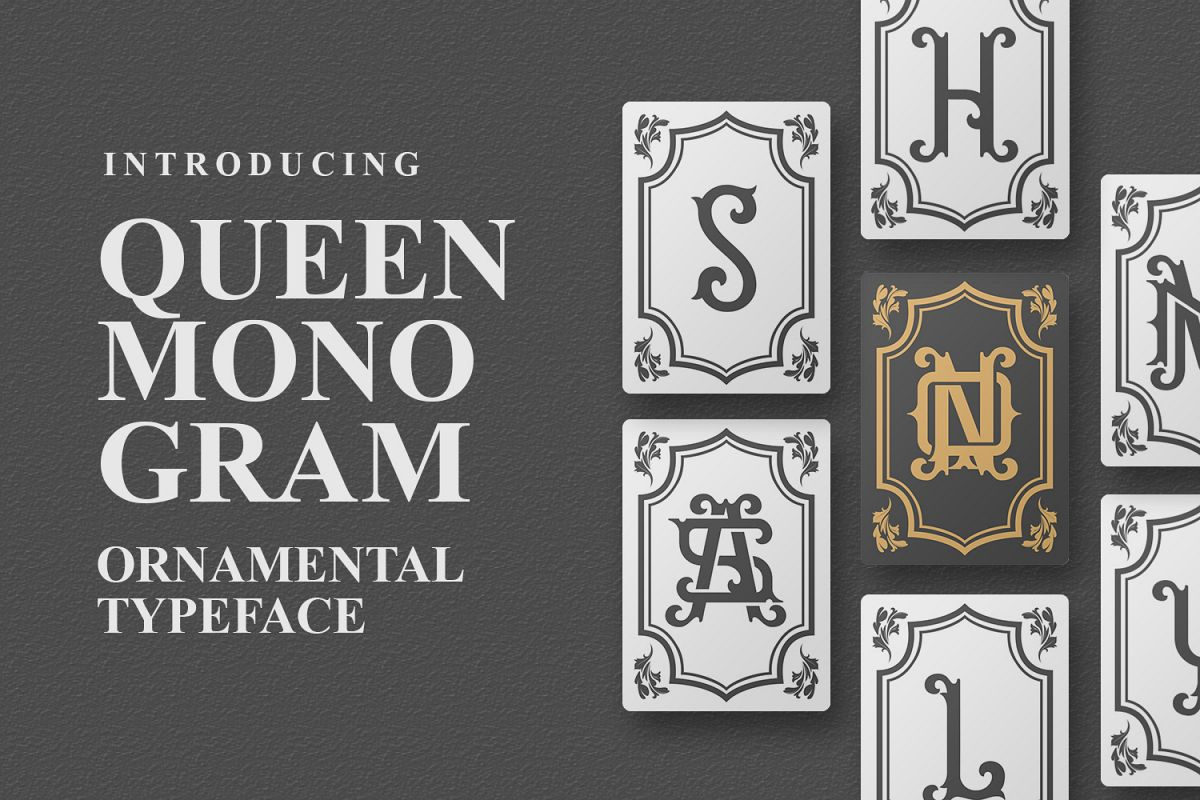 Queen Monogram example image 1