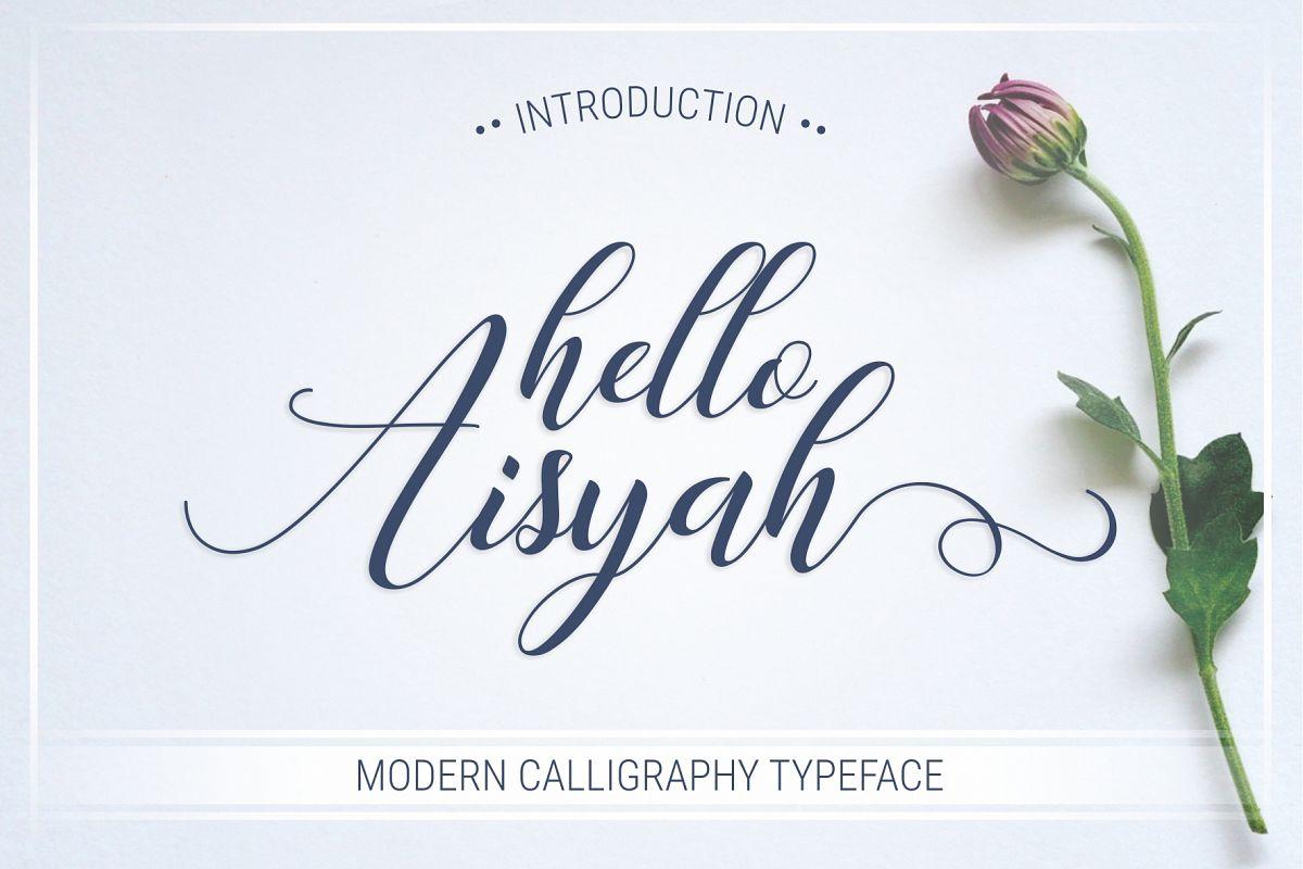 Hello Aisyah example image 1