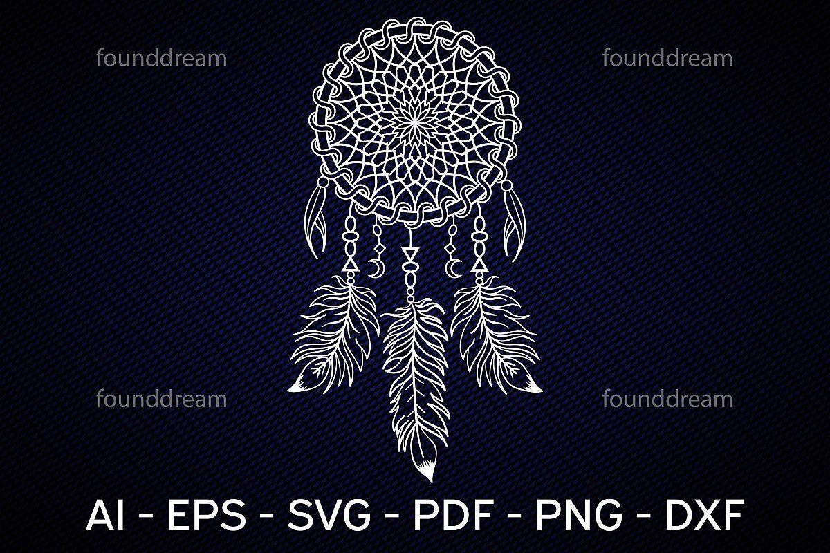 DreamCatcher SVG   vector files example image 1