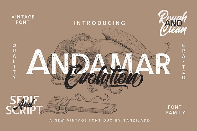 Andamar Font Family example image 1