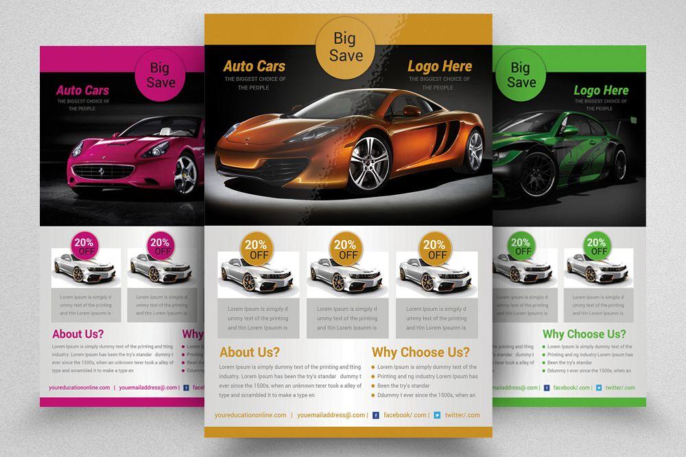 Car Dealer Flyer Magazine Ad