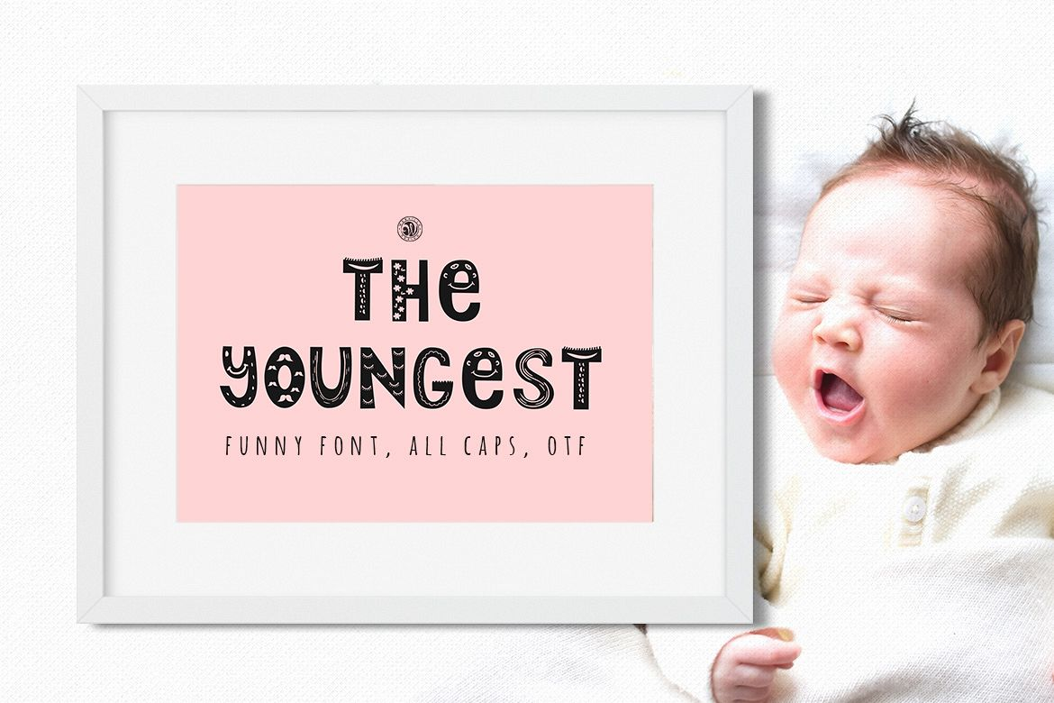 The Youngest Font example image 1
