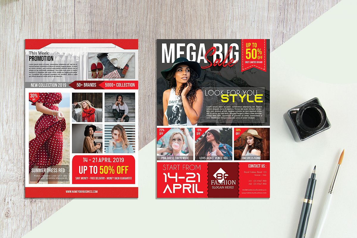 Fashion Sale Flyer vol. 06 example image 1