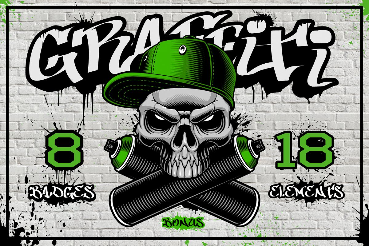 Graffiti Vectors Bundle example image 1