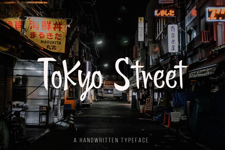 Tokyo Street - Handwritten Typeface example image 1