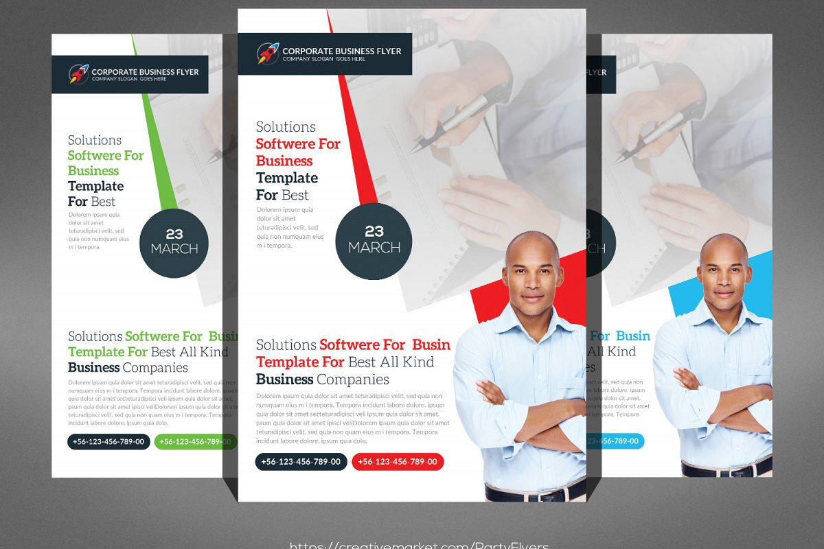 Business Flyer Psd example image 1