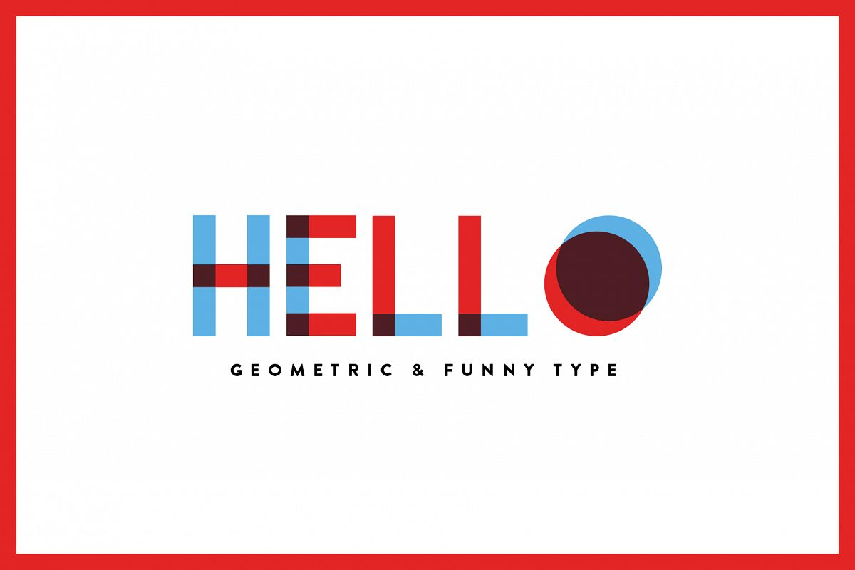 Hello - Font Family example image 1