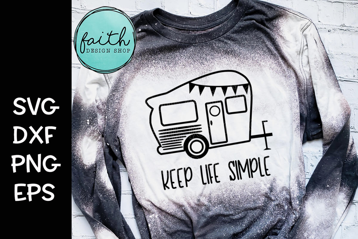 Keep Life Simple Camper example image 1