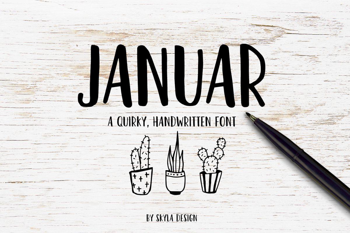 Bold Fun Handwritten Font