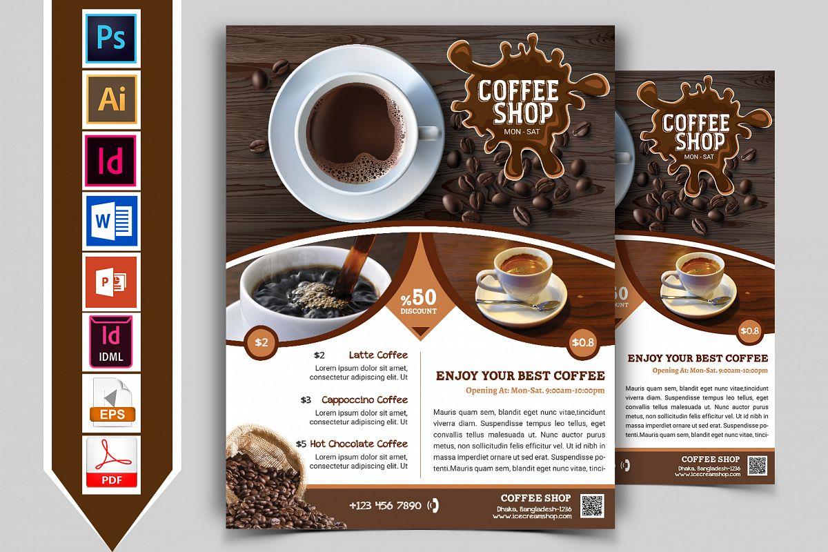 Coffee Shop Flyer Vol-01 example image 1